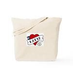 Nadia tattoo Tote Bag
