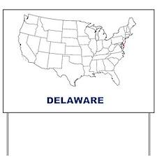 delaware Yard Sign