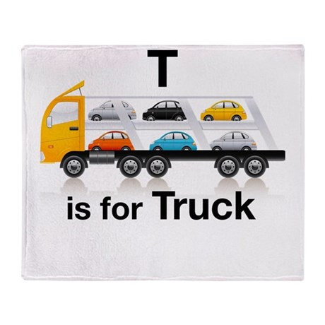 T_is_Car_Carrier Throw Blanket