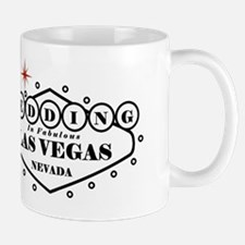 Black LV Wed Mug