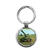 lynwoodcannon Round Keychain