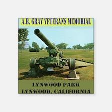 "lynwoodcannon Square Sticker 3"" x 3"""
