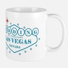 Blue LV Wed Mug