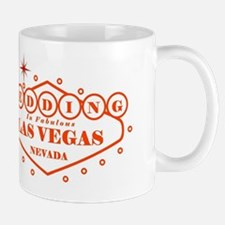 Orange LV Wed Mug