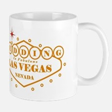Brown LV Wed Mug