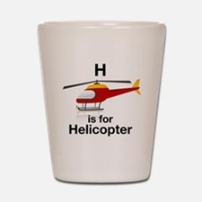H_is_Helicopter Shot Glass