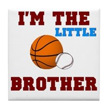 LIL brother sport2 Tile Coaster