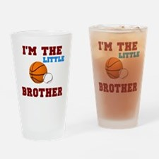 LIL brother sport2 Drinking Glass