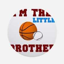 LIL brother sport2 Round Ornament