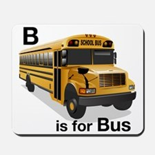 B_is_Bus Mousepad