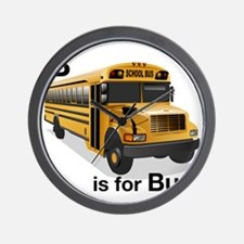 B_is_Bus Wall Clock