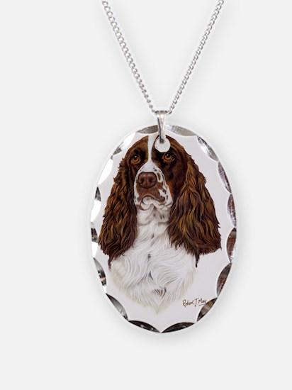 Eng Springer liver Necklace