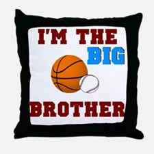 big brother sport2 Throw Pillow