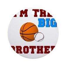 big brother sport2 Round Ornament