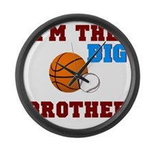 big brother sport2 Large Wall Clock
