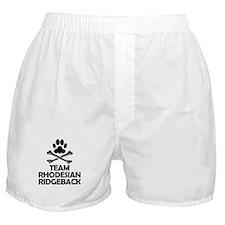 Team Rhodesian Ridgeback Boxer Shorts