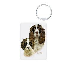 Eng Springer  Pup Keychains