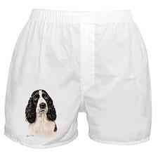 Eng Springer B  W Boxer Shorts