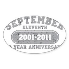 September 11 10 Year 2 Decal