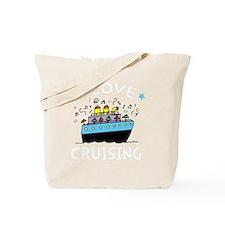 Love Cruising -dk Tote Bag