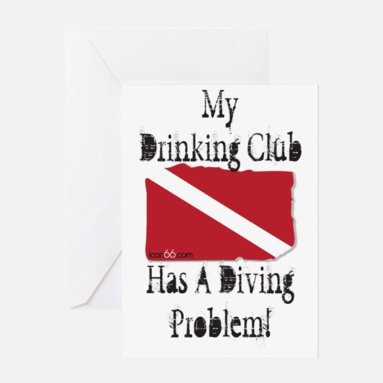 Drinking Problem Greeting Card