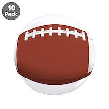 "Ball-Football-002.png 3.5"" Button (10 pack)"