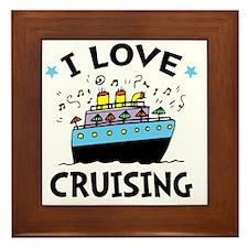 Love Cruising Framed Tile