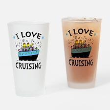 Love Cruising Drinking Glass