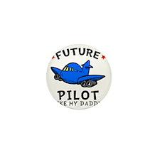Pilot Daddy Mini Button