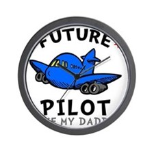 Pilot Daddy Wall Clock
