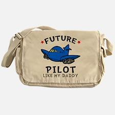 Pilot Daddy Messenger Bag