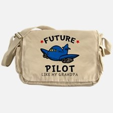 Pilot Grandpa Messenger Bag