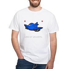 Pilot Grandpa -dk Shirt