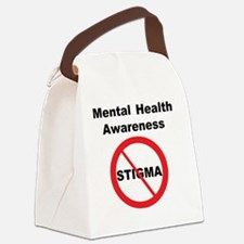 No Stigma Canvas Lunch Bag