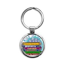 Math Teacher new 2011 Round Keychain