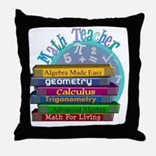 Math Teacher new 2011 Throw Pillow