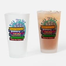Math Teacher new 2011 Drinking Glass
