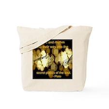 music plato Tote Bag