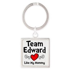 EdTeam Mom Square Keychain