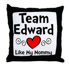 EdTeam Mom Throw Pillow