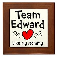 EdTeam Mom Framed Tile