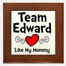 EdTeam Mom Framed Tile