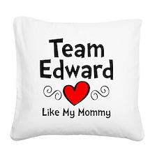 EdTeam Mom Square Canvas Pillow