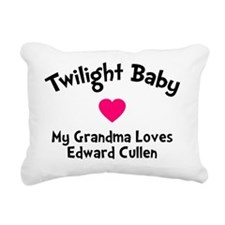 TwiHeart Baby Gma Rectangular Canvas Pillow
