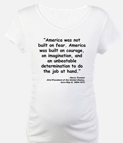 Truman Courage Quote Shirt
