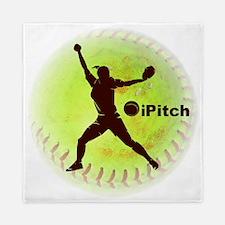 iPitch Fastpitch Softball (right hande Queen Duvet