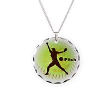 iPitch Fastpitch Softball (r Necklace