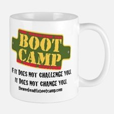 Challenge you. Change you. Mugs