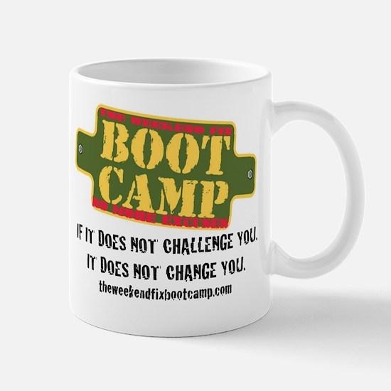 Challenge you. Change you. Mugs