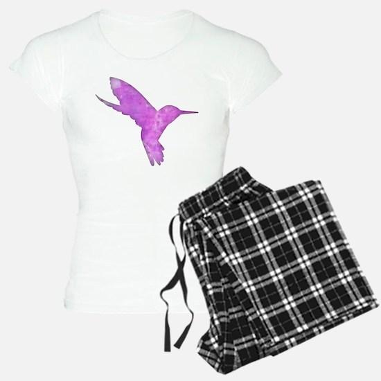 Hummingbird Art Pajamas